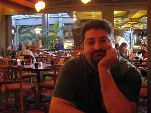 Adam @ Kona Cafe, Polynesian