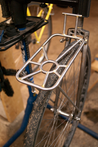 Custom front rack w. radians