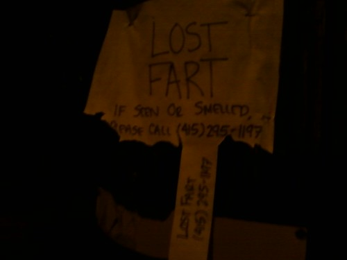Lost fart