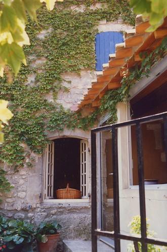Les Baux window