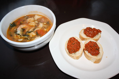 Fish Stew & Rouille on Sourdough