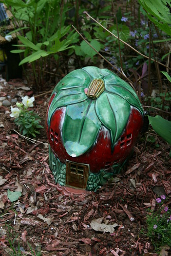 Strawberry House for Gnome garden