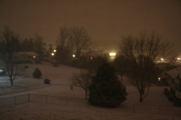 Snow: 12:15 a.m.