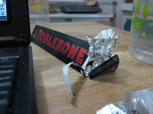 toblerone for breakfast?