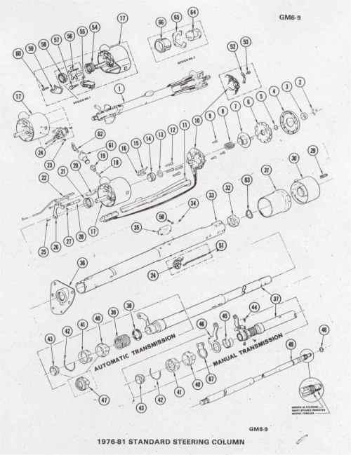 small resolution of 1972 chevy steering column parts diagram house wiring diagram 1985 corvette steering column diagram c4 corvette