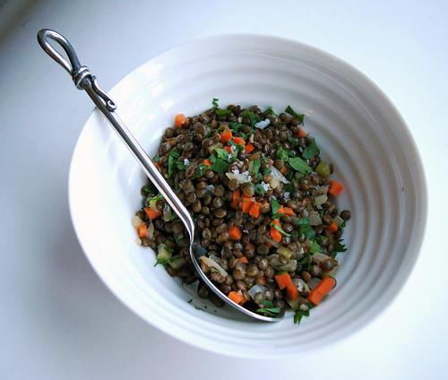 Warm Lentil Salad III