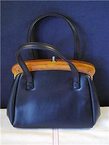 Handbag Navy Blue JR1