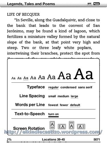 Activar Text-to-Speech