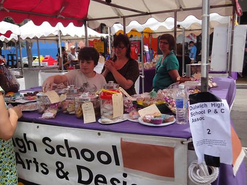 Dulwich Hill Street Fair: Homemade sweets from Dulwich High School