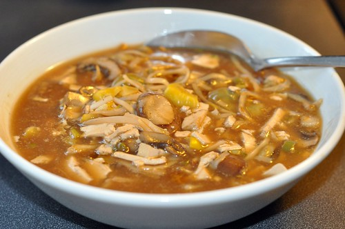 Chinesische suess saure Suppe