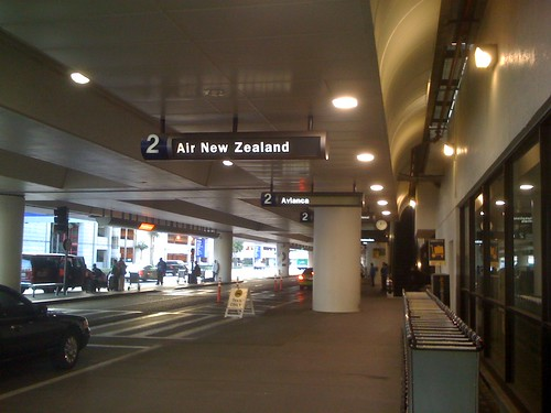 Air NZ at LAX