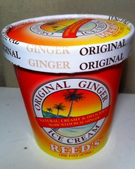 reed's ginger ice cream