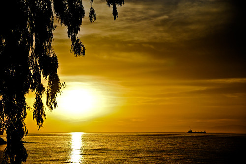 Sunrise by the sea - Annaba