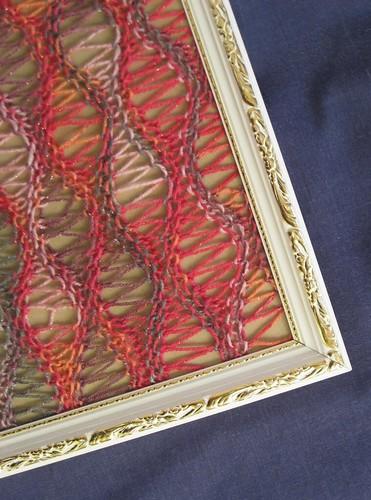 detail earring frame