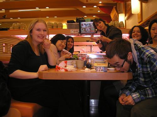 Gwynnie, Azusa, Saba, Jenny, me, Kumi & Kyohei