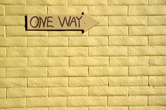 Day 306/365 - One Way