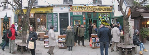 Paris: Shakespeare and company