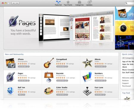 Mac App Store: La Tienda Virtual de Apple