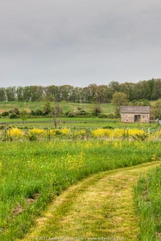 110501 Abiah Taylor Barn from Stroud Preserve 013 tm