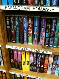 Paranormal Romance now has it's own section in...