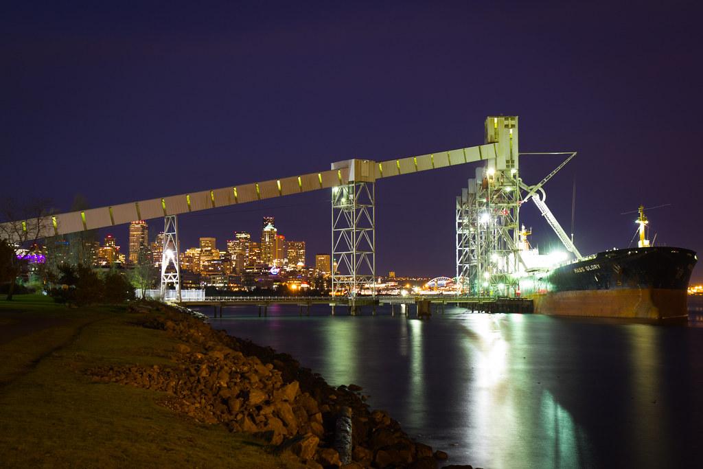 Seattle from Pier 86