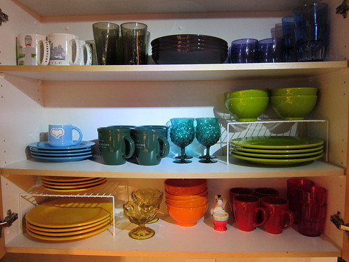 COMPLETED RAINBOW DISHES