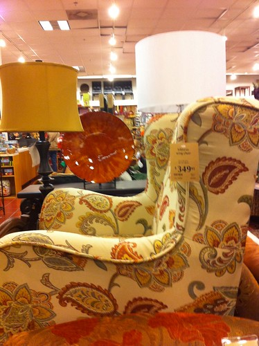 chair profile at Pier 1
