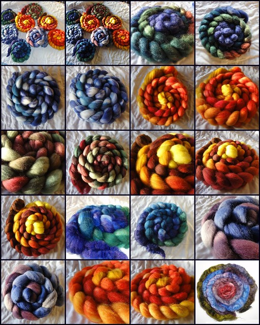Dyeing Roving 1