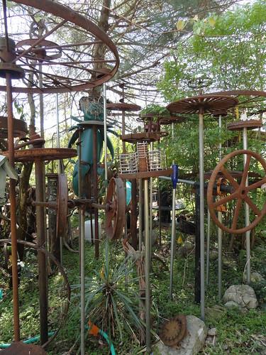 Wade Wharton's Art Environment in Huntsville, AL