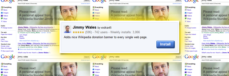 jimmy wales chrome extension