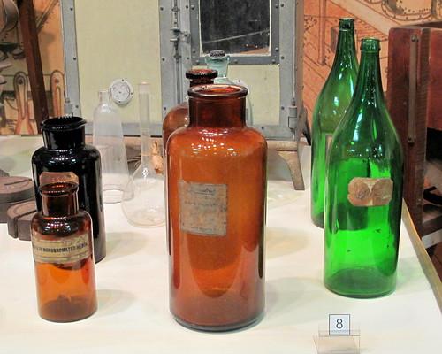 bottles, Edison museum