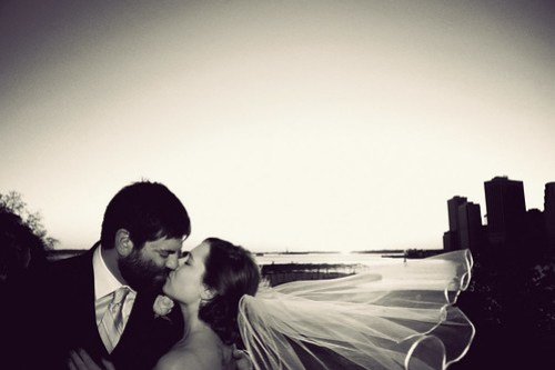 Kiss on the Promenade