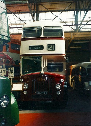 Oldham Corporation Leyland Titan PD2/20, NBU 494, Museum of Transport, Cheetham