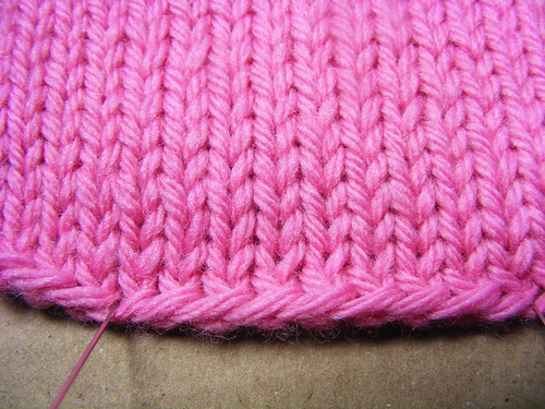 Long Tail on Stockinette