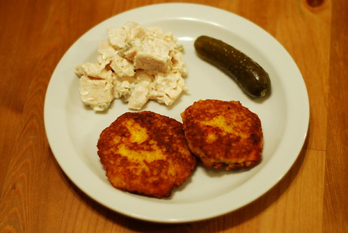 squash and quinoa latkes