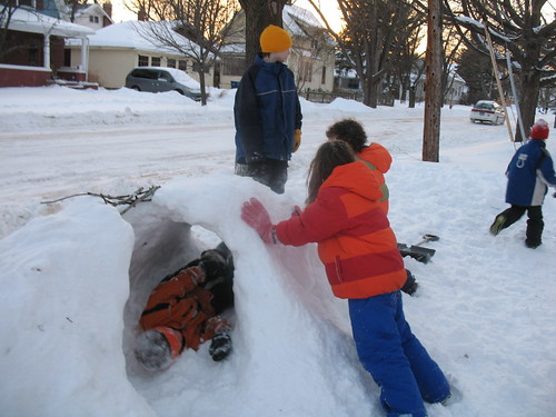 More Snow Forts