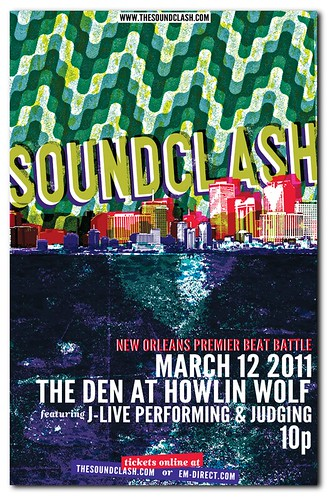 March Soundclash New Orleans Poster
