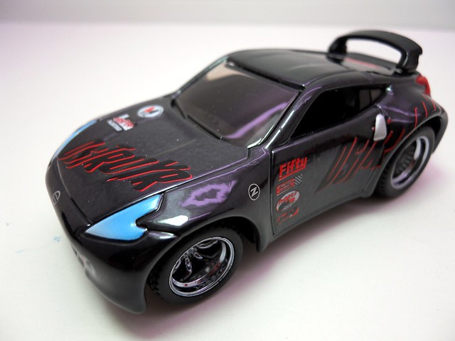 maisto custom shop fifty 5's 2009 nissan 370z destroyr (2)