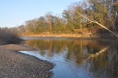 Cahaba River at Benton Beach