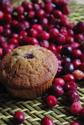 Muffins aux canneberges et à l'orange / Cranberries and Orange Muffins