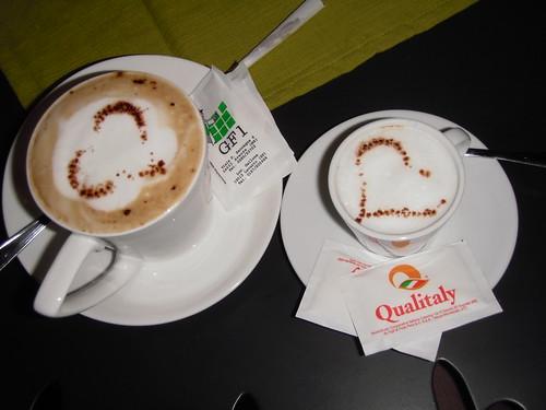 Caffè coi cuoricini