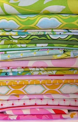 Nicey Jane stack for a baby quilt