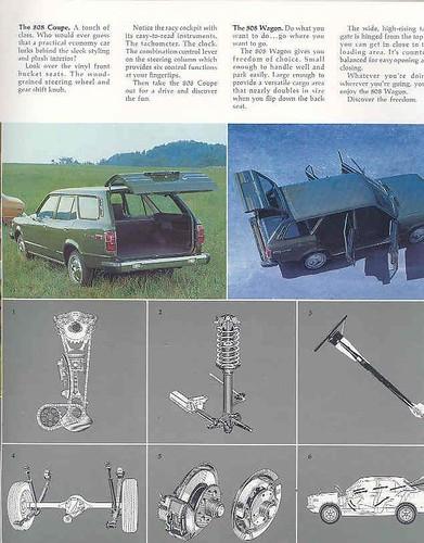 1974 Mazda 808 brochure - page 4