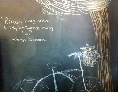 Imagination is intelligence having fun