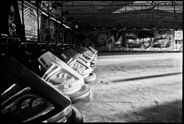 resting autoscooters