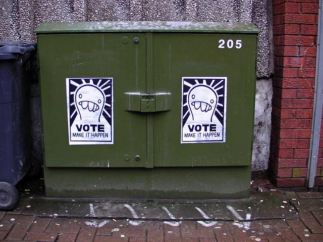 Vote Make it Happen Poster