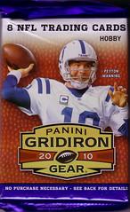 2010 Panini Gridiron Gear Pack