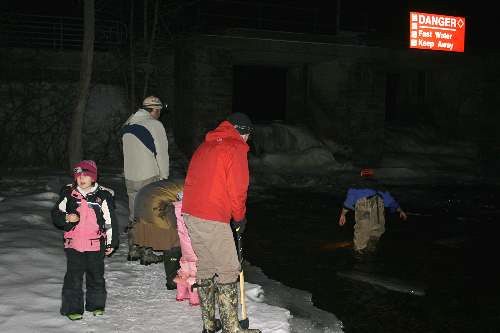 Mudpuppy Night at Oxford Mills, ON