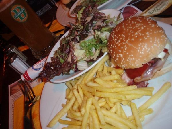 Hamburguesa de Les Brasseurs
