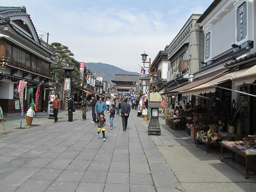 Street leading to Zenkoji